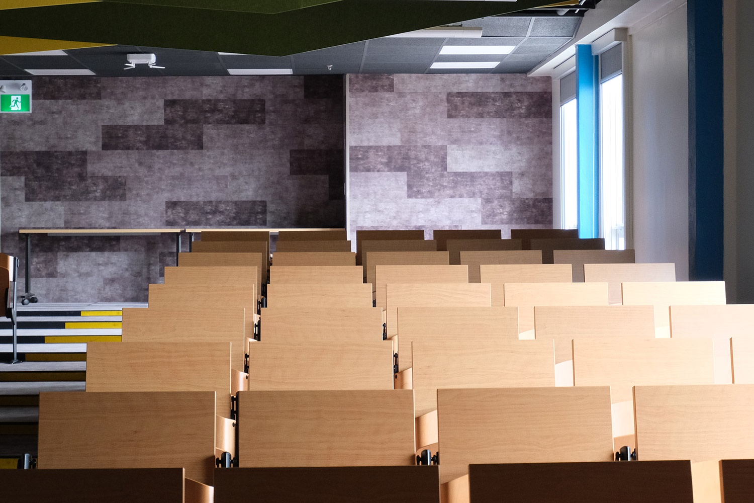 school auditorium